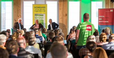 """Green Lies, nothing for the environment, everything for business"" – book launch Bio Schmidt-Bleek"
