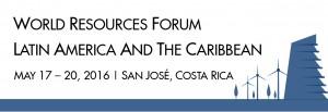 WRF LAC_banner2 WRF World Resources Forum Latin America San Jose Costa Rica 2016