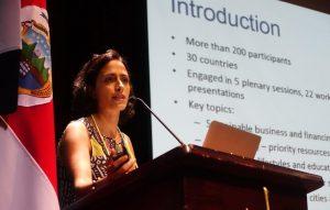Adriana Zacarias, UNEP, resource-efficient cities, WRF