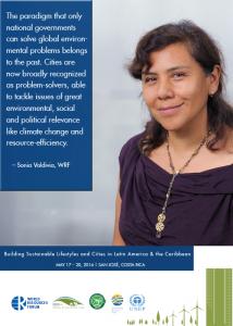 Sonia Valdivia resource-efficient cities
