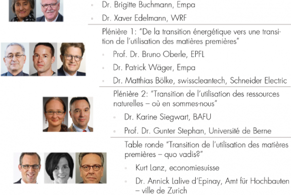 First Swiss Resources Forum will Discuss the Need for a Resource Transition