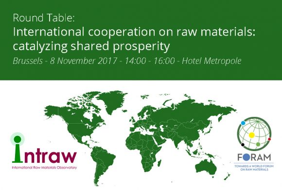 International Roundtable on Raw Materials Cooperation in Brussels