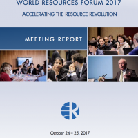 Accelerating the Resource Revolution – WRF 2017 Meeting Report