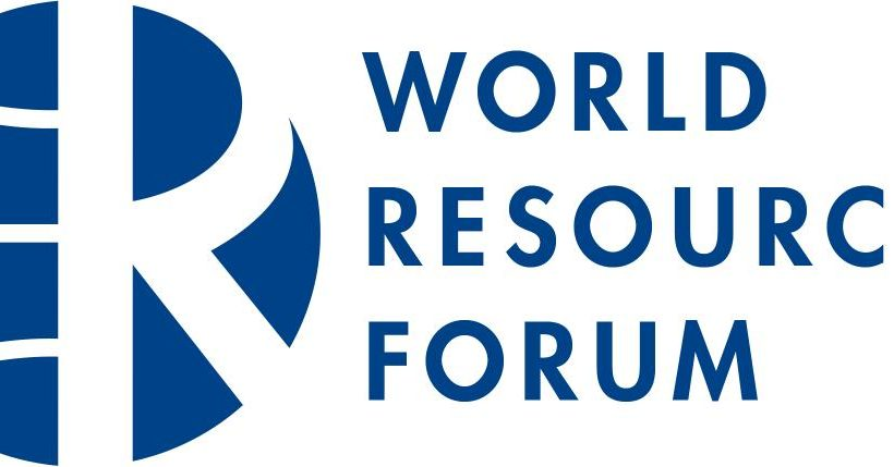 World Resources Forum 2019 Geneva – Save the Date