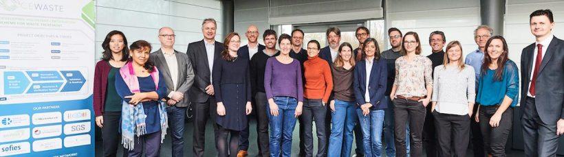 CEWASTE Critical Raw Materials Project Comes on Stream