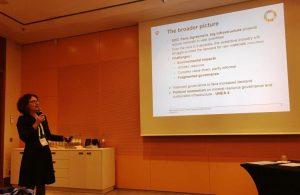 Martine Rohn-Brossard at Raw Materials Summit