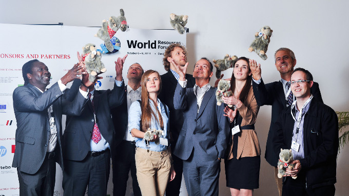 WRF Team with Flying Marmots