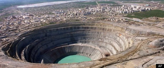 negative environmental impacts of diamond mining